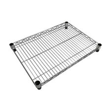 24'' x 18'' Metal Chrome Plated Wire Shelf Shelfing Rack Tier Layer Shelf