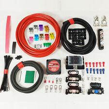 Split Charge Relay Professional Kit 4 Metre 12V 140 Amp Voltage Sensitive