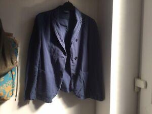 TOAST Blue Linen/ Cotton Jacket - Size 10