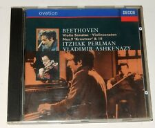CD BEETHOVEN Violin Sonatas N° 9 Kreutzer & 10 Itzhak PERLMAN Vladimir ASHKENAZY