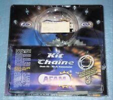 """kit chaîne """"GOLD""""' AFAM 14x43 pas 428 SUZUKI GS 125 1982/1996 réf.01413131 neuf"""