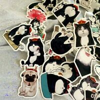 40Pcs/Lot Cat & Dog DIY Scrapbooking Stickers For Laptop Lauggage Decor Cxz