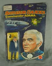 1978 Commander Adama Battlestar Galactica Action Figure Mint Unpunched On Card