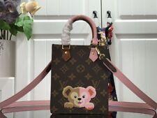 Handle Bags with Cute Teddy Bear LV PETIT SAC PLAT M69442XR