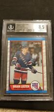 1989-90 Brian Leetch Bgs 8.5 Opc Tembec Test Issue