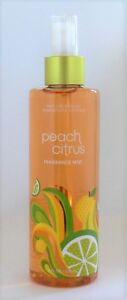 Bath and & Body Works PEACH CITRUS Fragrance Mist Splash Spray 8 oz. RARE HTF