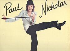 PAUL NICHOLAS disco LP 33 giri SAME 1977 MADE in ITALY omonimo STAMPA ITALIANA