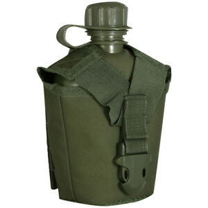 VIPER MILITARY MODULAR WATER BOTTLE POUCH ARMY HIKING MOLLE CANTEEN HOLDER GREEN