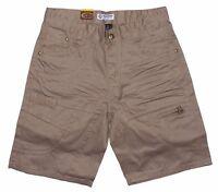 Mens Chisel Jeans Twill Denim Beige Denim Shorts CJ-2818S Sale
