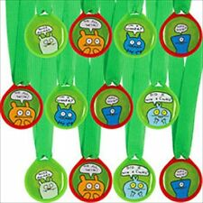 UGLYDOLL ASSORTED AWARD MEDALS (12) ~ Birthday Party Supplies Favors Prizes Toys