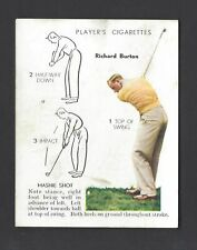 PLAYER - GOLF - #6 RICHARD BURTON