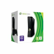 Xbox 360 S 4GB Console  Kinect Ready Wifi HDMI Xbox Live - Black NEW AND RARE