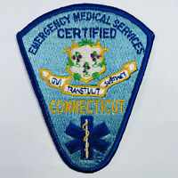 Connecticut EMS Emergency Medical Services Certified CT Patch (A7)