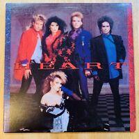 HEART - (SELF-TITLED) Vinyl Record LP-- 1985 CAPITOL RECORDS  ST-12410) -.