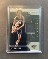 2019-20 Panini Prizm JAXSON HAYES Sensational Swatches Rookie Jersey Relic RC