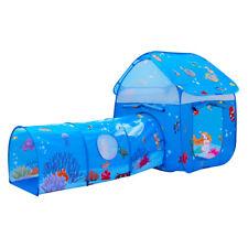 2 in 1 Kids Play Tent Children Indoor Outdoor playhouse tunnel boys girls gift