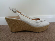 NATURALIZER NIEVA ESPADRILLE WEDGE SANDALS SIZE 6