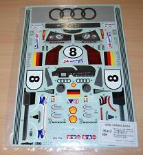 Tamiya 58247 Audi R8R Roadster/F103LM, 1425687/11425687 Decals/Stickers, NIP