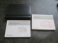 2002 VAUXHALL CORSA C HAND BOOK OWNERS MANUAL WALLET TS1541-5 OCT 02