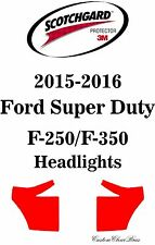 3M Scotchgard Paint Protection Film Bra 2015 2016 Ford Super Duty F-250 / F-350
