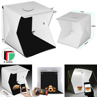 Photo Photography Studio Lighting Portable LED Light Tent Kit Box 70 Lamp Beads