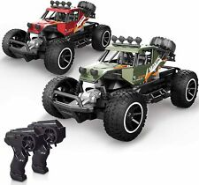 X TOYZ RC Cars 2 PCS Remote Control Off Road Monster Trucks Cars for Kids, 1:20