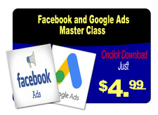 Facebook and Google Ads Master Class -Email Delivery