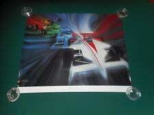 1987 - 71st Indianapolis 500 Race Poster Print Commissioned 4 Chrysler THE RACE