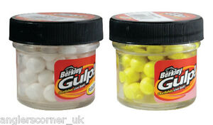 Berkley Gulp Salmon Eggs / White / Yellow / Fishing