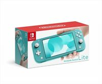 Nintendo Switch Lite Console Turquoise Portable Game Machine from Japan NEW