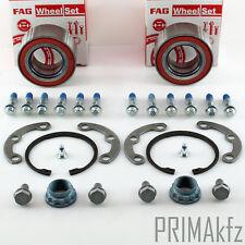 2x FAG 713 8004 10 Radlagersatz Mercedes W210 W124 W202 S202 W201 C208 R129