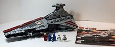 LEGO STAR WARS 8039- REPUBLIC ATTACK CRUISER- 100% COMPLETE W/ INSTRUCTIONS-LOOK