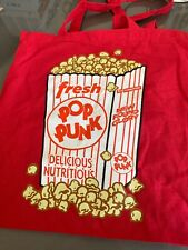 """New Found Glory """"popcorn"""" Tote bag! Red"""