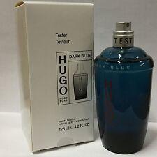 DARK BLUE by Hugo Boss 4.2 oz EDT eau de toilette Men's Spray Cologne NIB TESTER
