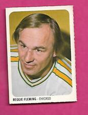 RARE 1973-74 WHA QUAKER OATES COUGARS FLEMING MINI CARD (INV# A8270)