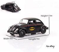 1/32 Scale  Batman Vintage Cars Model  Diecast Classic Beetles Light &sound