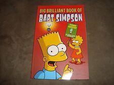 Simpsons Big Brilliant Book of Bart Simpson Matt Groening Comic Book Trade PB