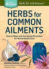 Herbs for Common Ailments: How to Make and Use Herbal Remedies
