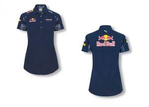 POLO ladies Red Bull Racing PUMA Womens Poloshirt Formula One 1 F1 NEW! Navy