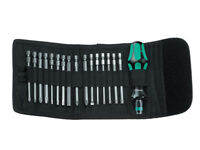 Wera Tools Germany Kompakt 60 - 17 Piece Bit Set Screwdriver With Storage Case