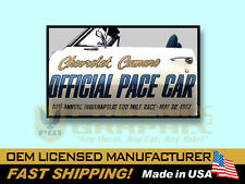 1967 Chevrolet Camaro Indy 500 Pace Car Decals & Stripes Kit