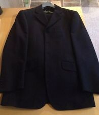 Black Remus Men's Suit/38'Waist/29.5' Leg/40' Chest/Work Wear/Business/Tailoring