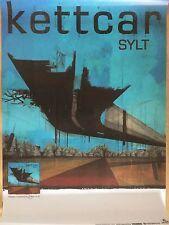 KETTCAR – SYLT  2010 TOUR - orig.Concert Poster -- Konzert Plakat  A1 NEU