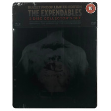 The Expendables Bullet Proof Limited Edition Blu-ray UK IMPORT Steelbook