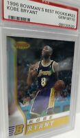 PSA 10 1996 Bowman Bowman's Best Kobe Bryant LA Lakers #R23 Rookie 🔥🚀 HOT HOF