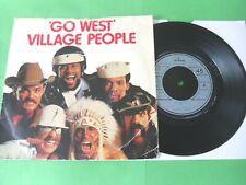 "VILLAGE PEOPLE - GO WEST  7""  79  VG"