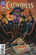 DC Comics 1993 Series CATWOMAN #41 Near Mint NM Batman Bagged & Boarded Balent