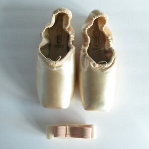 Suffolk Freed Of London Ballet Shoes 7.5 3X Pink Satin CPro Hard Pointe Dance