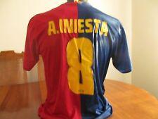 # 8 A Iniesta F.C.B.Soccer Football Adult  Large Barcelona