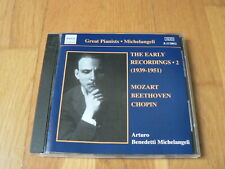 Michelangeli : The Early Recordings vol.2 - Mozart, Beethoven, Chopin- CD Naxos